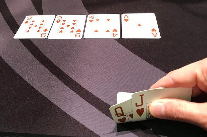 tipos de mãos do poker